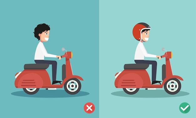 Bonnes Et Mauvaises Manières De Conduire Pour éviter Les Accidents De Voiture. Illustration Vecteur Premium