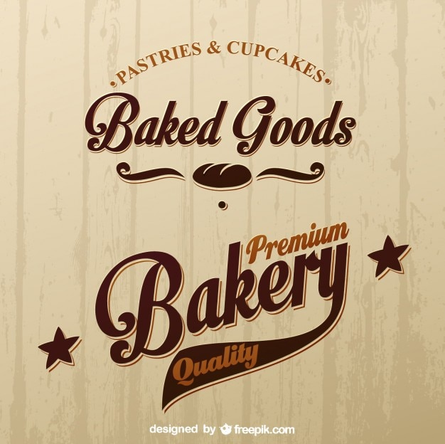 Boulangerie Logo Vecteur gratuit