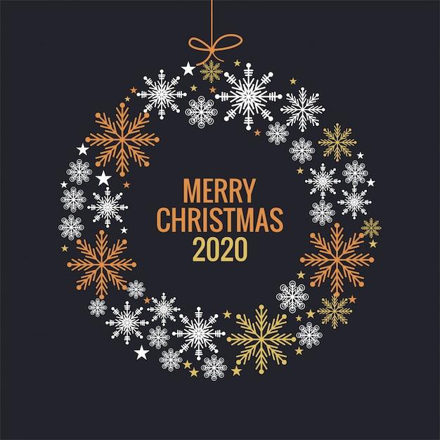 Boule Colorée De Flocons De Neige De Noël Et Du Nouvel An Vecteur gratuit