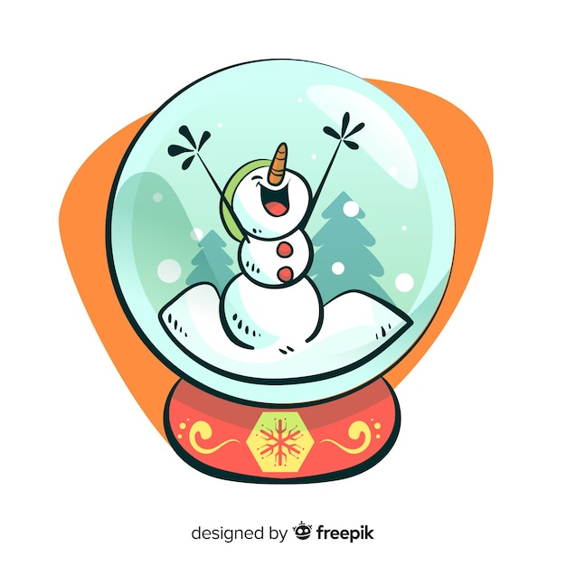 boule de neige no l dessin anim bonhomme de neige t l charger des vecteurs gratuitement. Black Bedroom Furniture Sets. Home Design Ideas