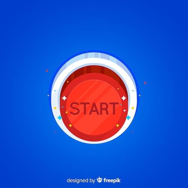 Bouton start Vecteur gratuit