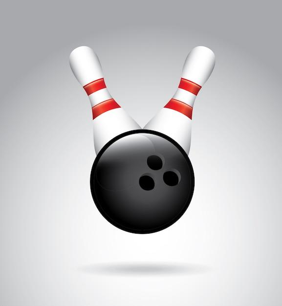 Bowling Vecteur Premium