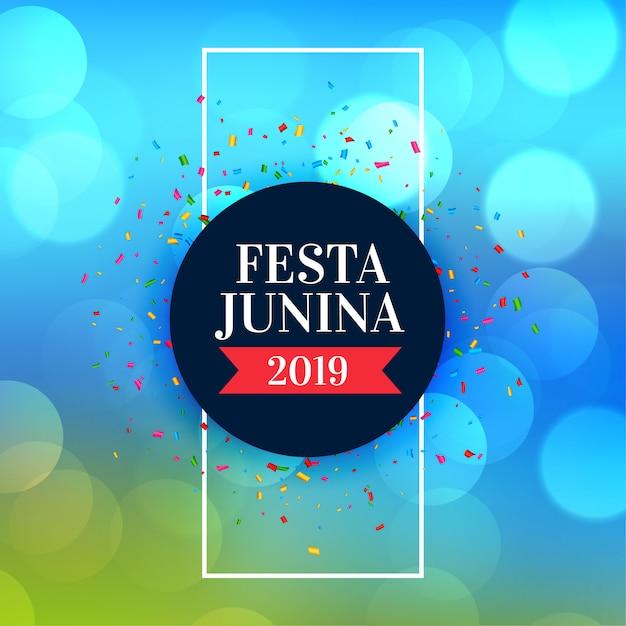 Brésil Juin Festa Junina Festival Vecteur gratuit