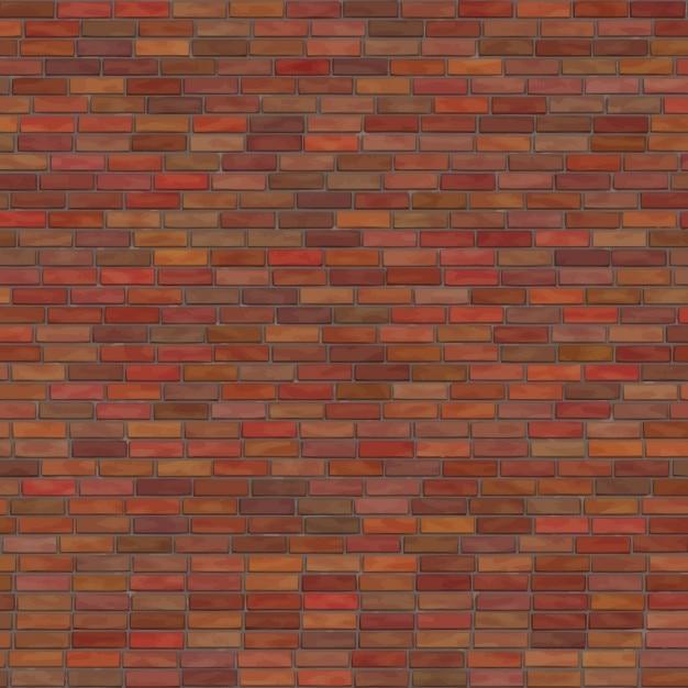 Bricks texture du mur Vecteur gratuit
