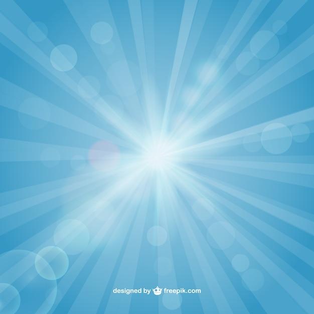 Bright fond soleil Vecteur gratuit