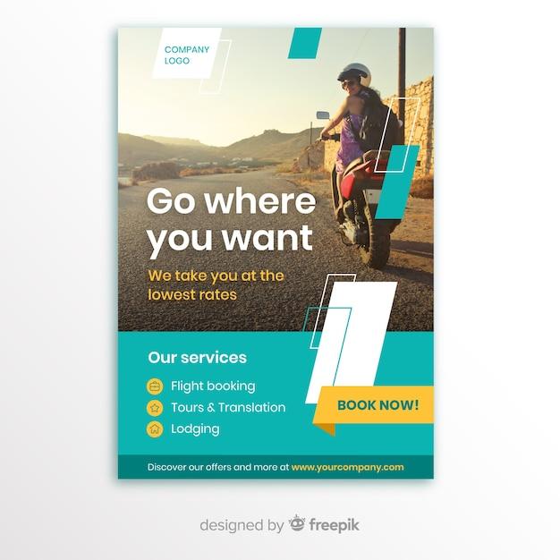 Brochure d'entreprise Vecteur gratuit