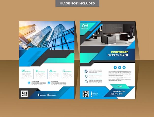Brochure modèle de brochure conception de la couverture rapport annuel flyer ou brochure Vecteur Premium