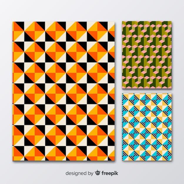 Brochure de modèle isométrique Vecteur gratuit
