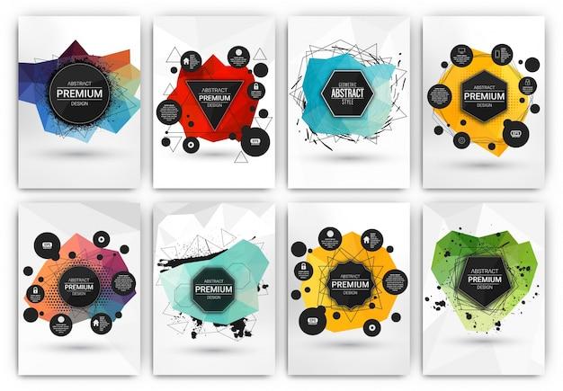 Brochure Modèles De Collection Vecteur gratuit