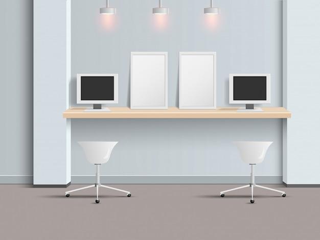 Bureau moderne et design de salle de relaxation télécharger des