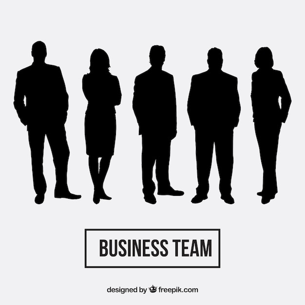 Business team décrit pack Vecteur gratuit