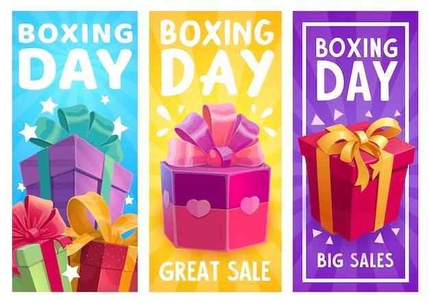 Cadeaux De Boxe, Cadeaux Promotionnels De Grande Vente Vecteur Premium