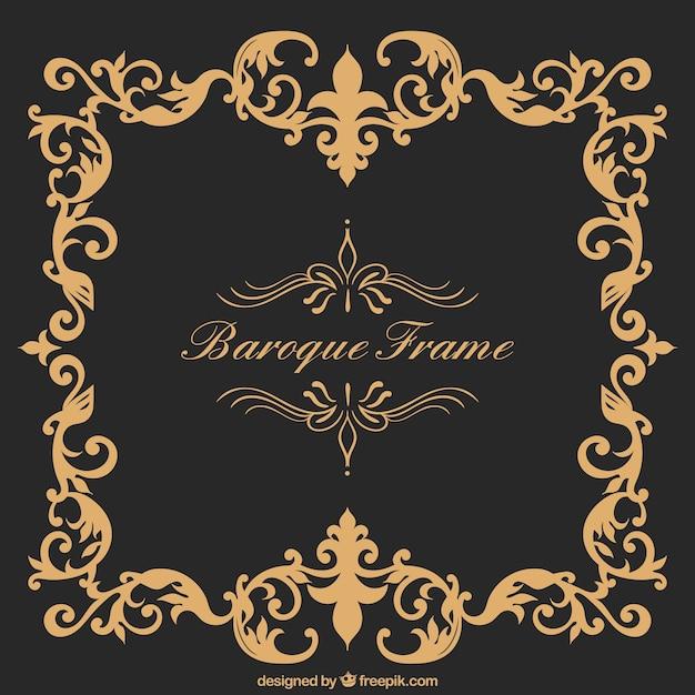 cadre baroque t l charger des vecteurs gratuitement. Black Bedroom Furniture Sets. Home Design Ideas