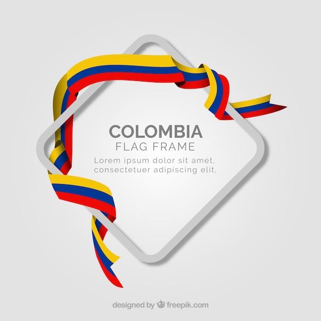 Cadre columbia Vecteur gratuit