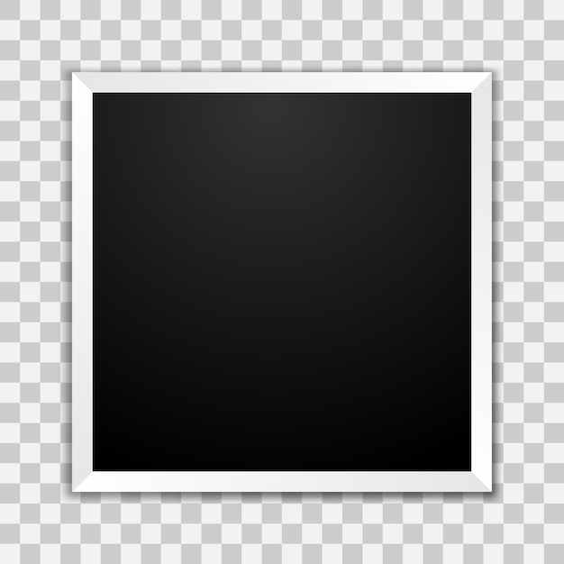 Cadre Photo Vide Vecteur Premium
