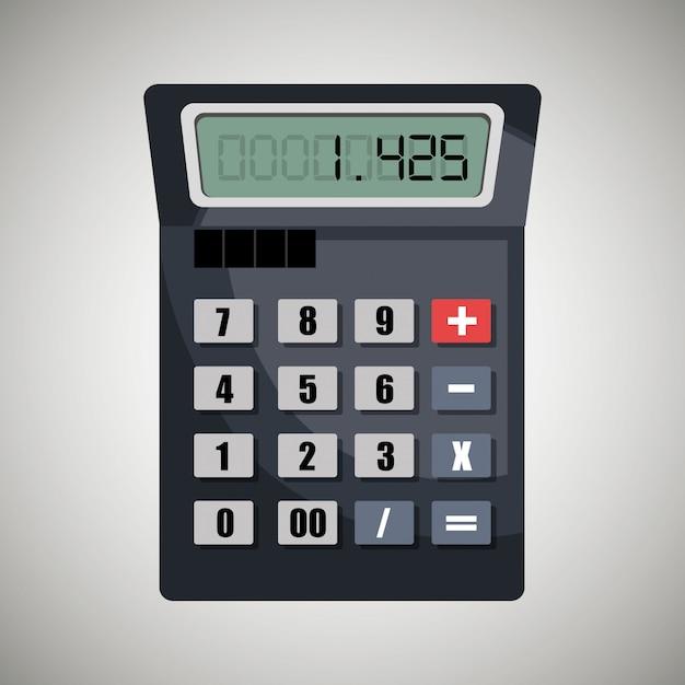 Calcul des coûts Vecteur gratuit
