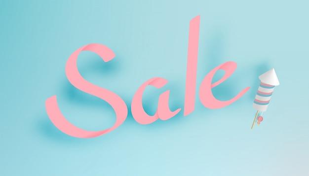 Calligraphie sur papier d'art de vente à la main Vecteur Premium