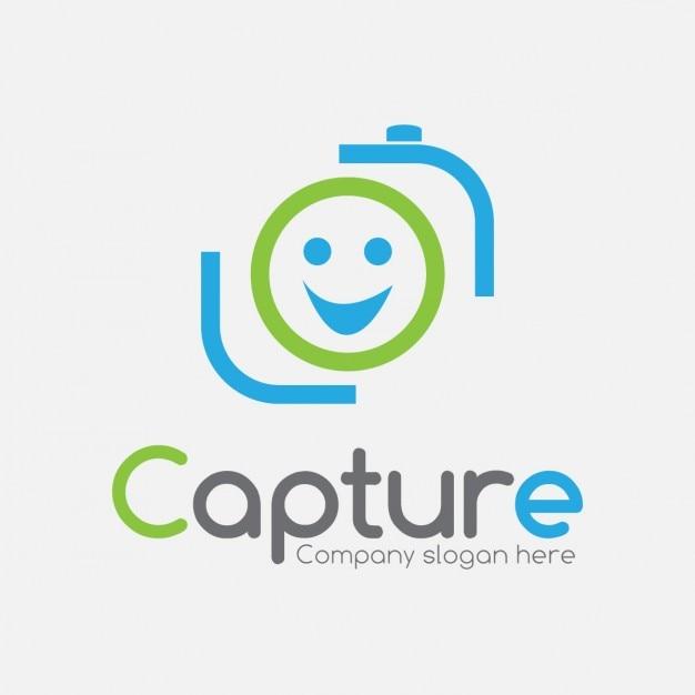 Caméra Logo Vecteur gratuit