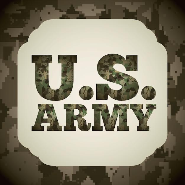Camouflage militaire Vecteur Premium
