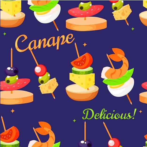 Canape Set Designer Vecteur gratuit