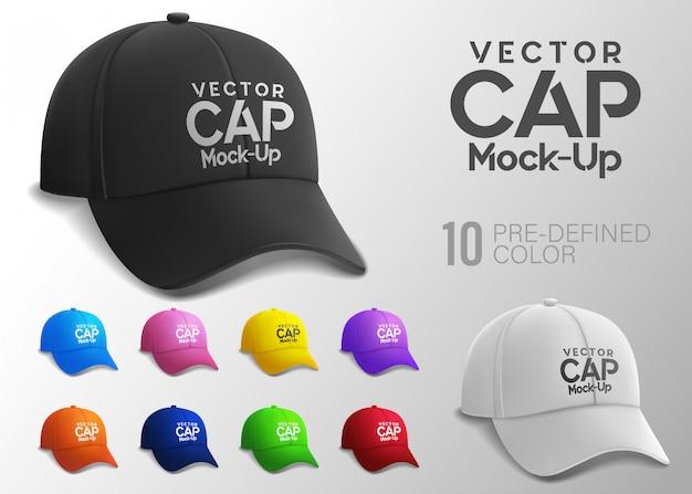 Capuchon En Vue Latérale Avec Couleur Prédéfinie Vecteur Premium