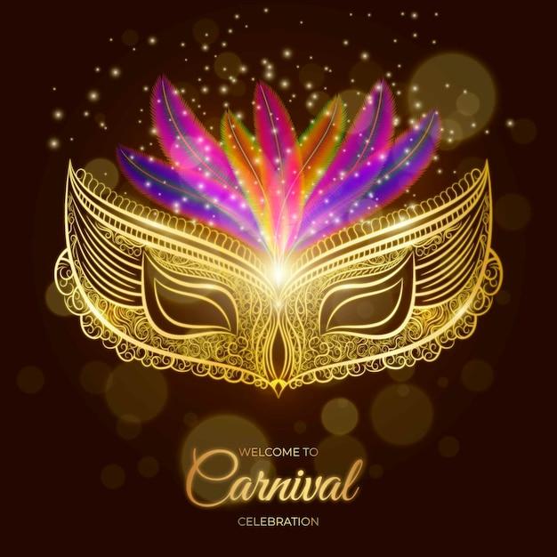 Carnaval Brésilien Réaliste Vecteur gratuit