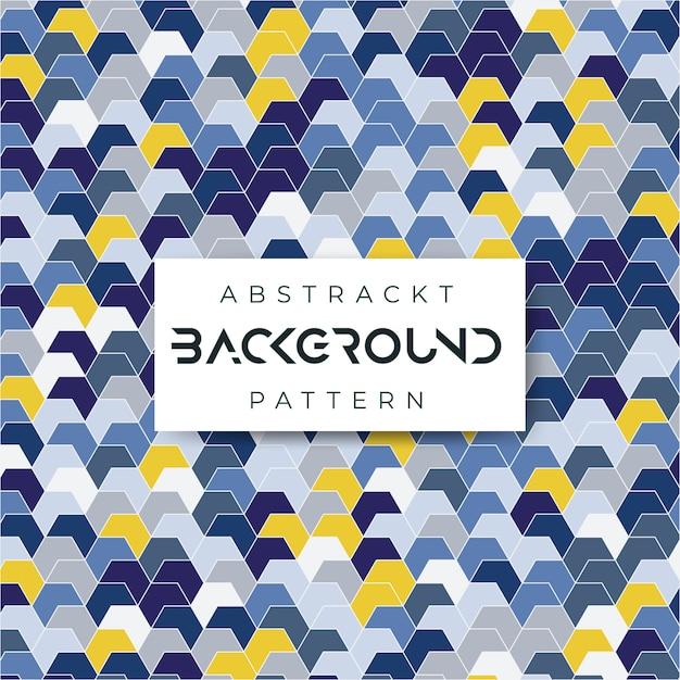 Carreaux azulejos vérifié fond abstrait Vecteur Premium