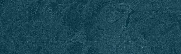 Carte Abstraite Du Relief De La Terre. Vecteur gratuit