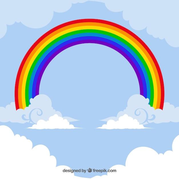 Carte arc en ciel color t l charger des vecteurs - Image arc en ciel gratuite ...