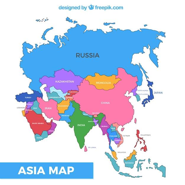 Asie continent