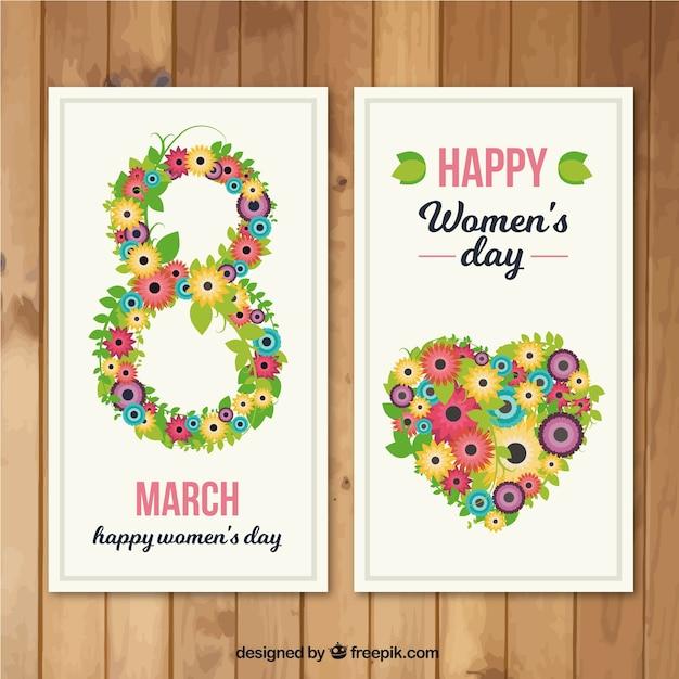 Carte du jour de la floride femme Vecteur gratuit