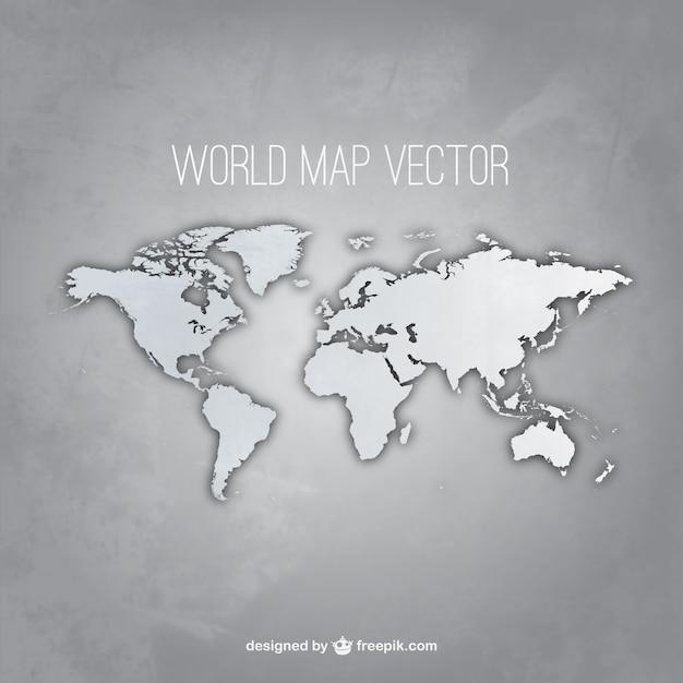carte grise du monde t l charger des vecteurs gratuitement. Black Bedroom Furniture Sets. Home Design Ideas
