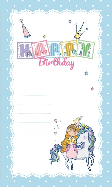 Carte De Joyeux Anniversaire Pour Petite Fille Telecharger Des