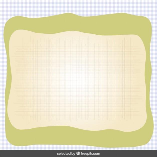 Carte mignonne dans des couleurs pastel Vecteur gratuit