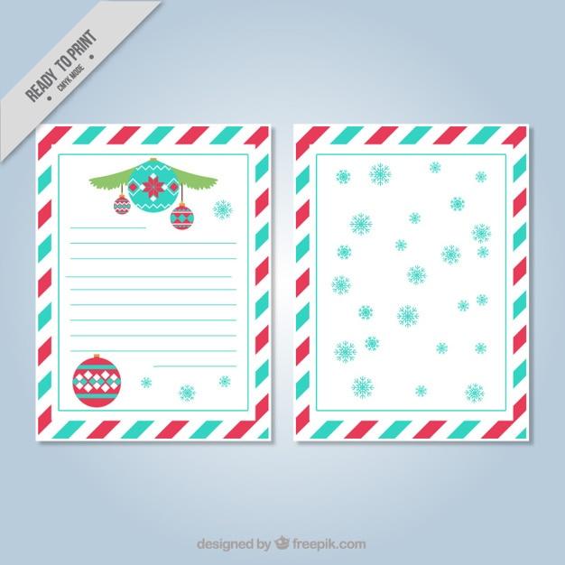 Carte De Noël Avec Bordure Décorative Télécharger Des