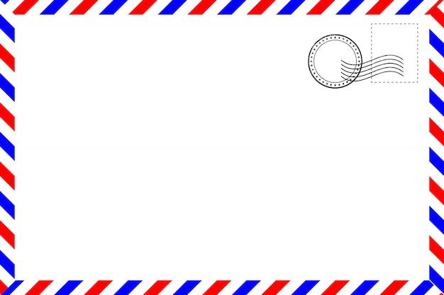 Carte postale vintage réaliste Vecteur Premium