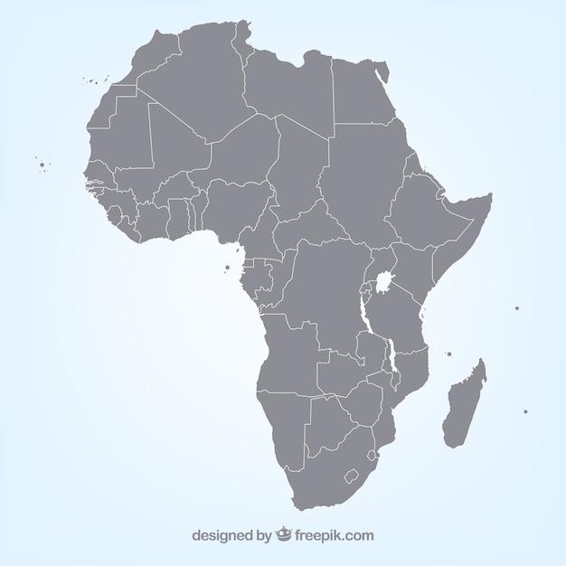 Carte Afrique Vectorielle.Carte Vectorielle En Afrique Telecharger Des Vecteurs