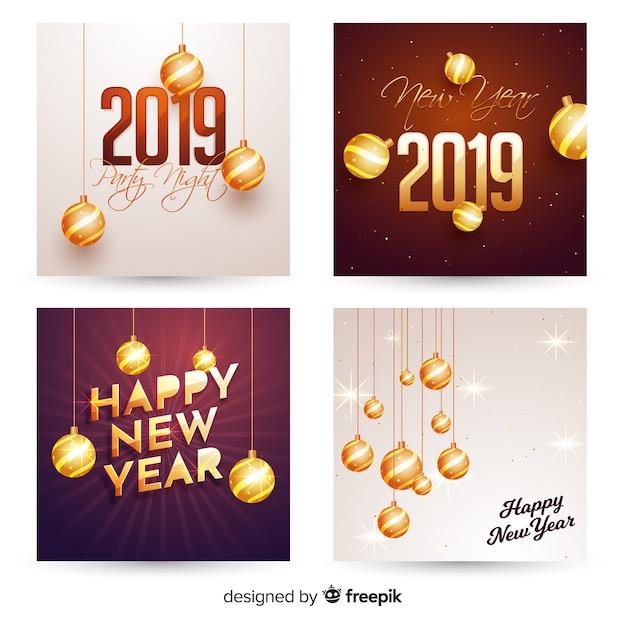 Imprimer carte de voeux 2019 gratuite