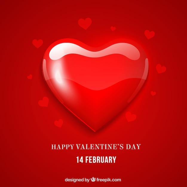 carton rouge pour le jour de la saint valentin t l charger des vecteurs gratuitement. Black Bedroom Furniture Sets. Home Design Ideas