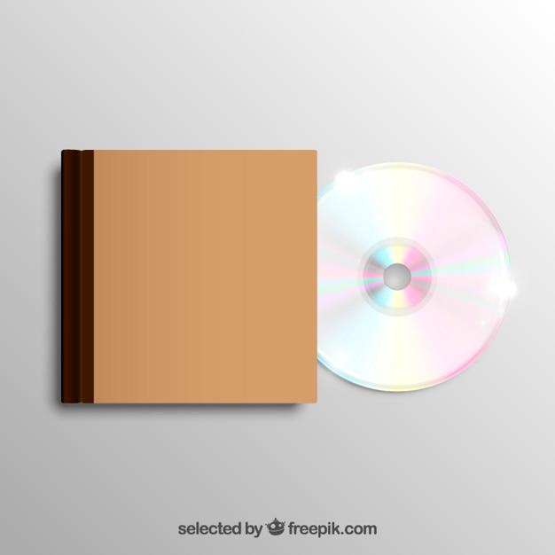 Cas de cd Vecteur gratuit