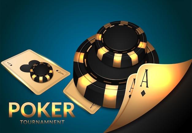 Casino, jeux de roulette et dés, chance et victoire. Vecteur Premium