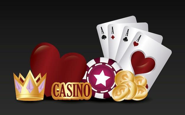 Casino Vecteur gratuit