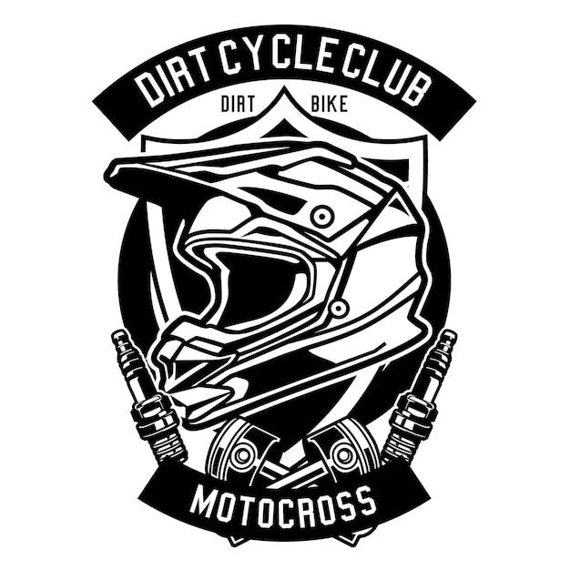 Casque De Motocross Télécharger Des Vecteurs Premium