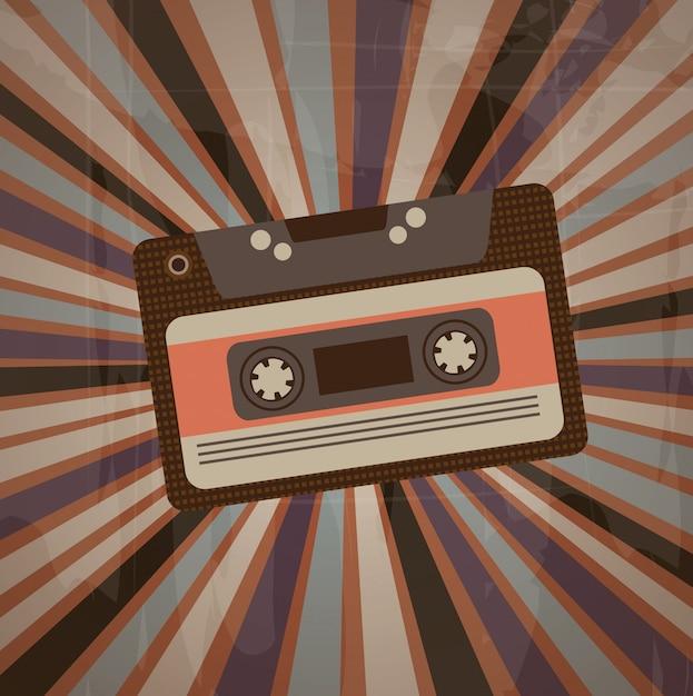 Cassette Vecteur Premium