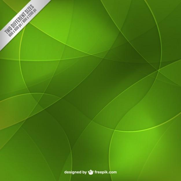 Les Cercles Verts Arrière-plan Vecteur gratuit