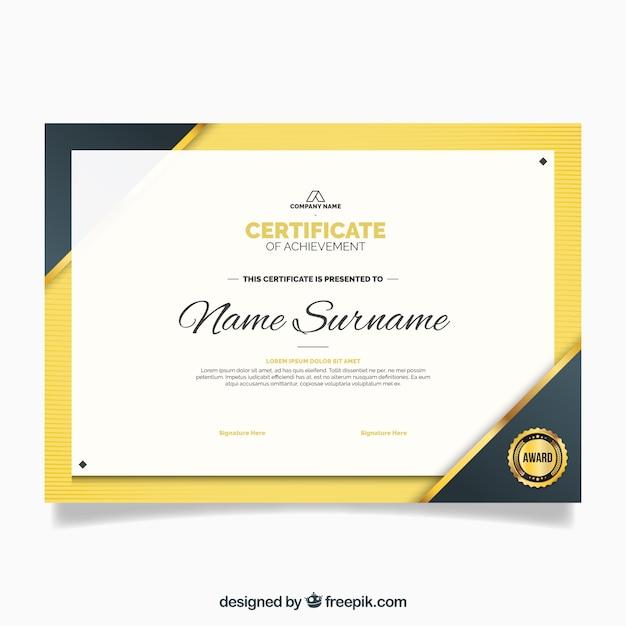 Certificat de luxe de mod le d 39 appr ciation t l charger for Modele certificat de ramonage gratuit