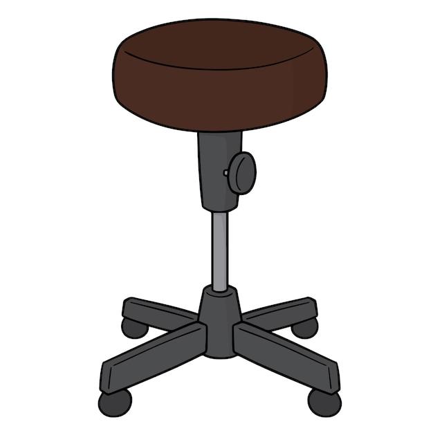 Chaise de dessin animé Vecteur Premium