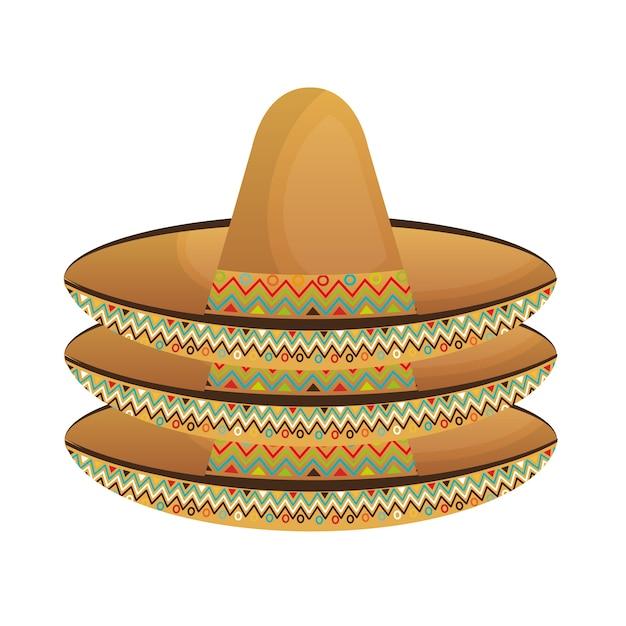 rechercher le meilleur Vente meilleure sélection de Chapeau mexicain classique icône vector illustration design ...
