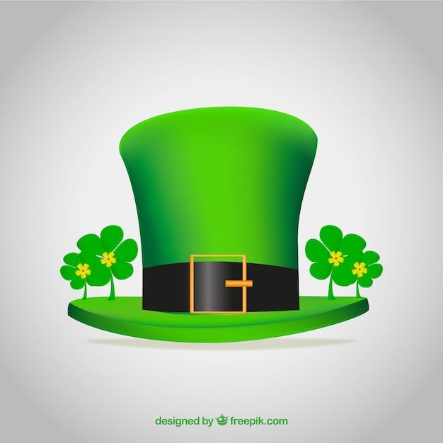 chapeau vert pour la saint patrick jour t l charger des. Black Bedroom Furniture Sets. Home Design Ideas