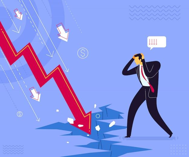 Choc d'échec commercial Vecteur Premium